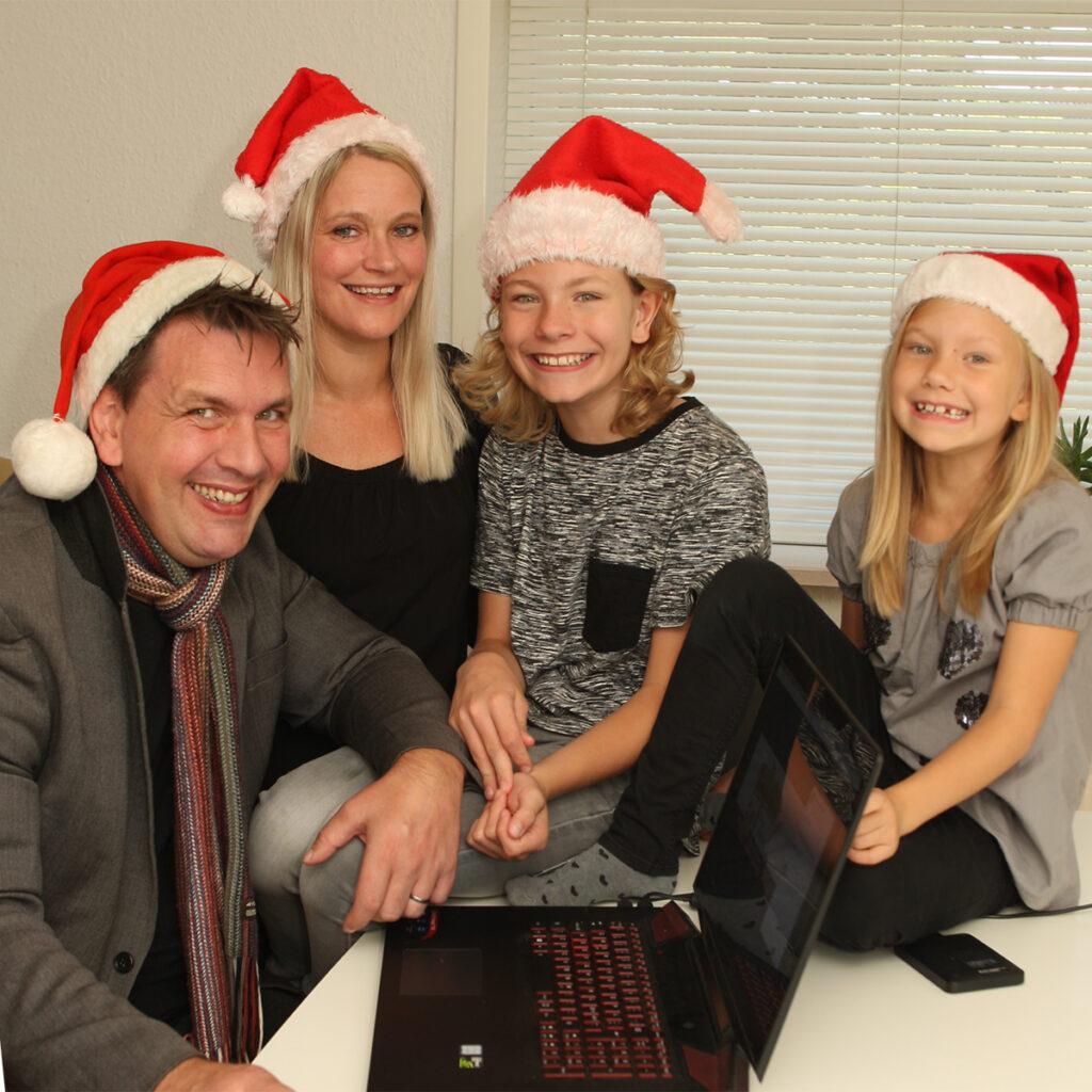 Familien Lautrup elsker julen og Julemandens Værksted